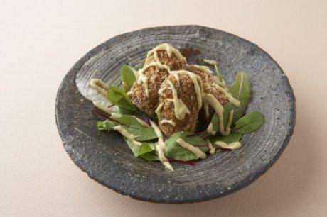 小松菜の和風コロッケ
