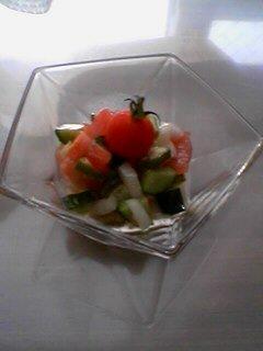 夏野菜のカルパッチョマリネ