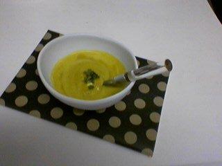 かぼちゃの冷製食べるスープ