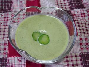 胡瓜の冷製スープ