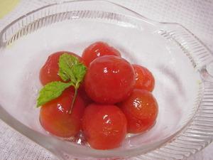 プチトマトのスイートマリネ
