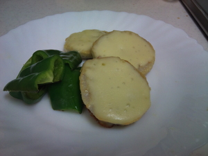 超簡単 ベークドサトイモ