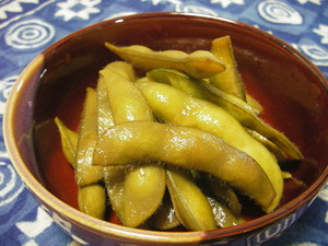 枝豆の甘辛煮